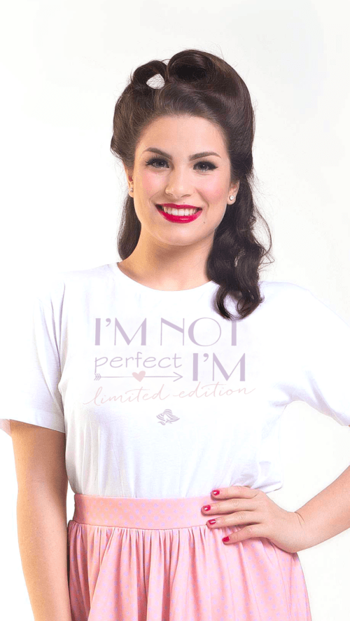 T-Shirt I'm not perfect | Fattifatty.com